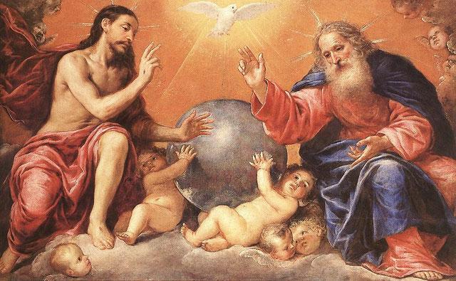Antonio de PEREDA, la Sainte Trinité